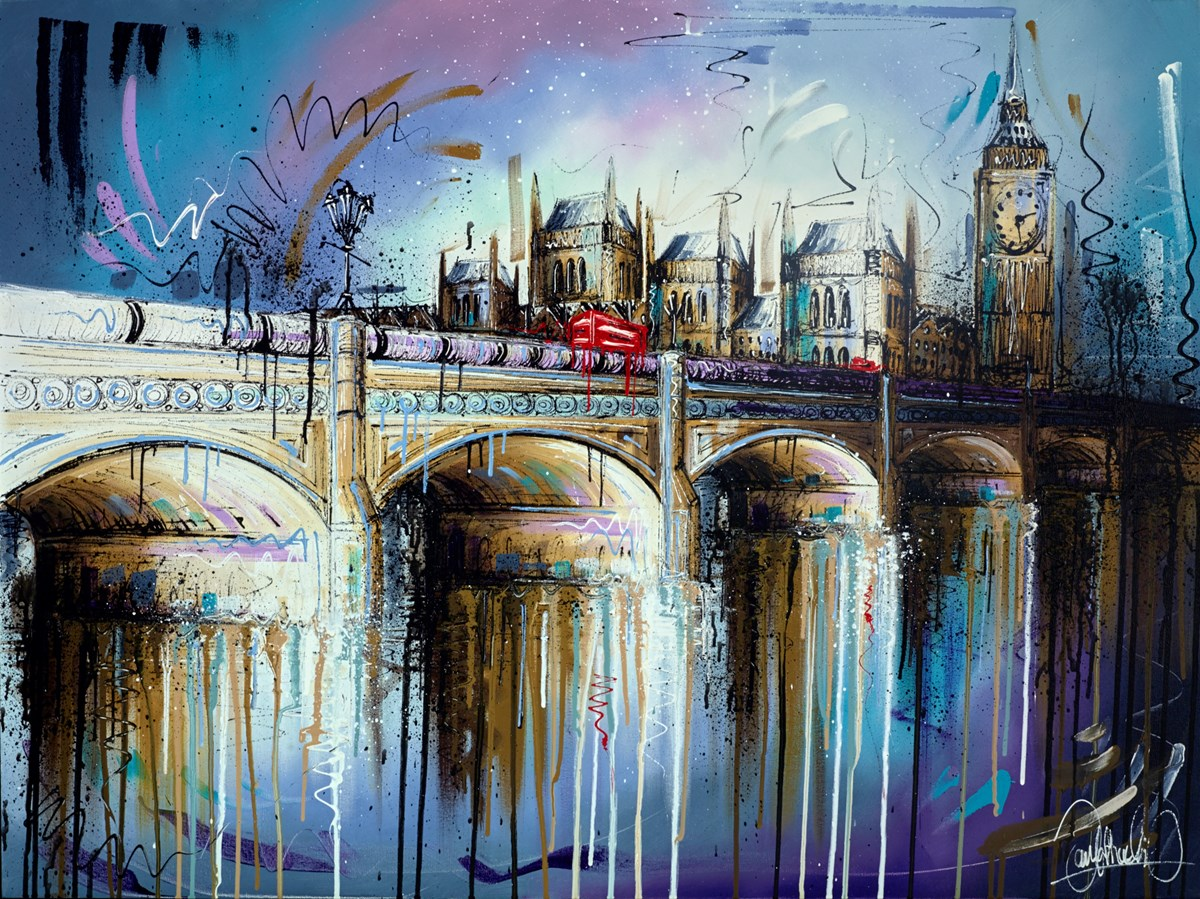 Morning Blues II by samantha ellis -  sized 40x30 inches. Available from Whitewall Galleries